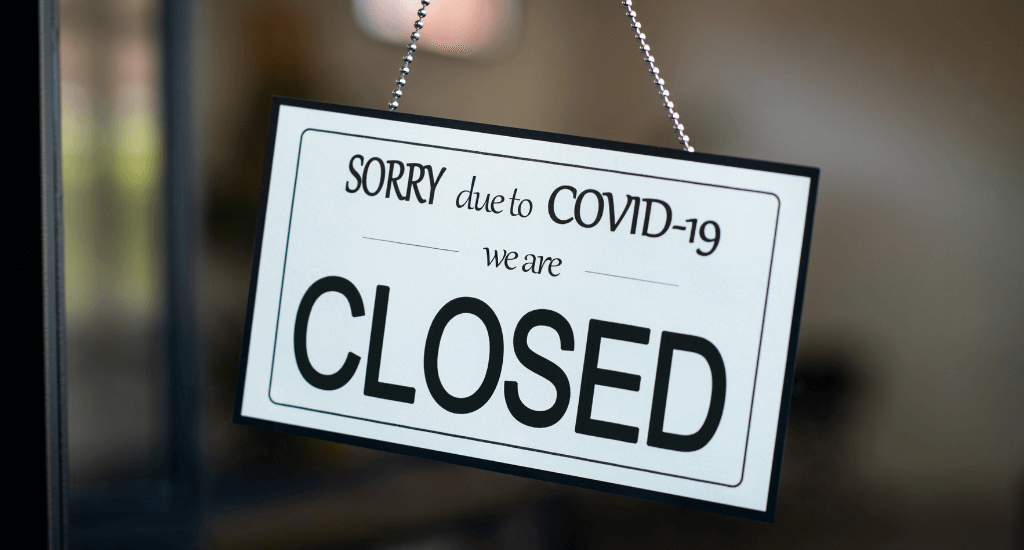 Business closed due to great resignation stemming from COVID