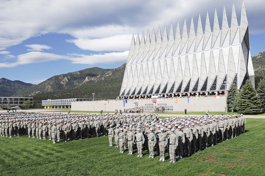 General Schedule (GS) pay scale for The Air Force Academy