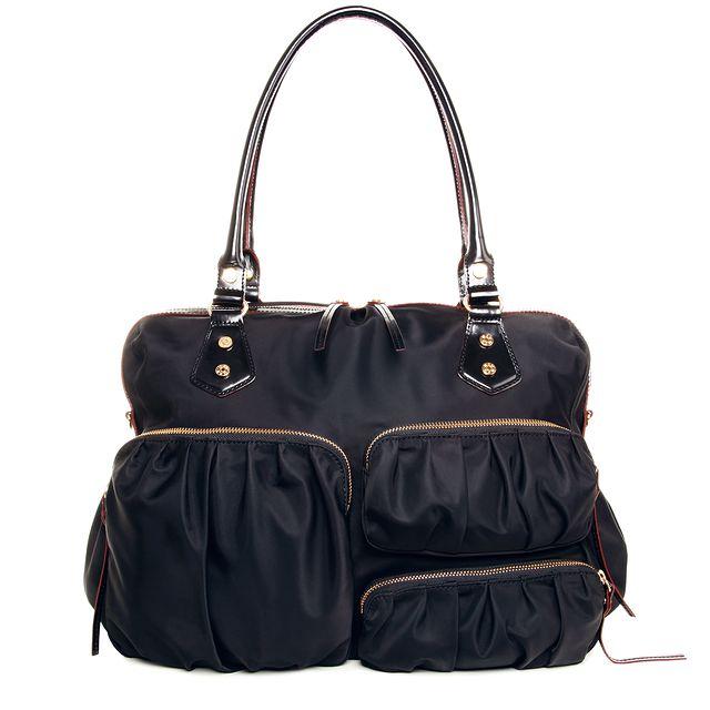black mz wallace diaper bag