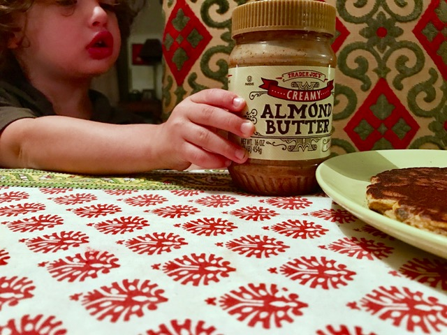 ollie-holding-almond-butter