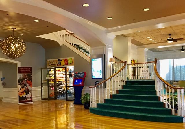 stairs at Wyndam Buena Vista