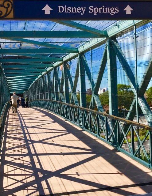 bridge to Disney Springs