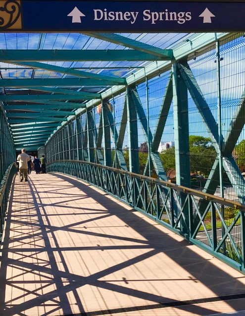 bridge at Disney Springs