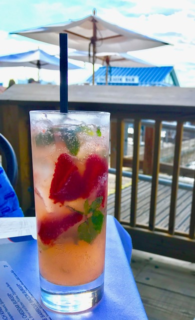 coctail at the Boathhouse in Disney Sprints