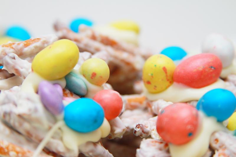 Bird Nest's For Easter Treats
