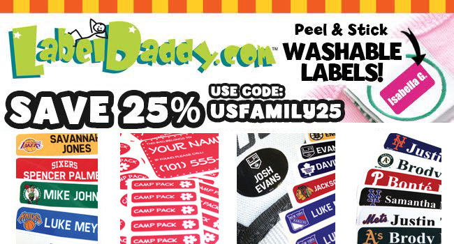 Save 25% off LabelDaddy.com
