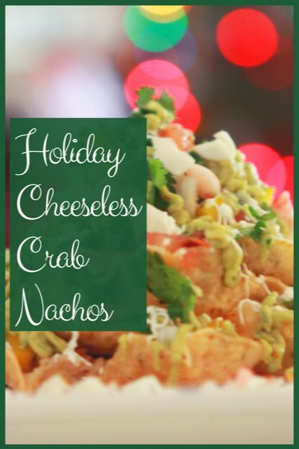 pin for cheeseless crab nachos