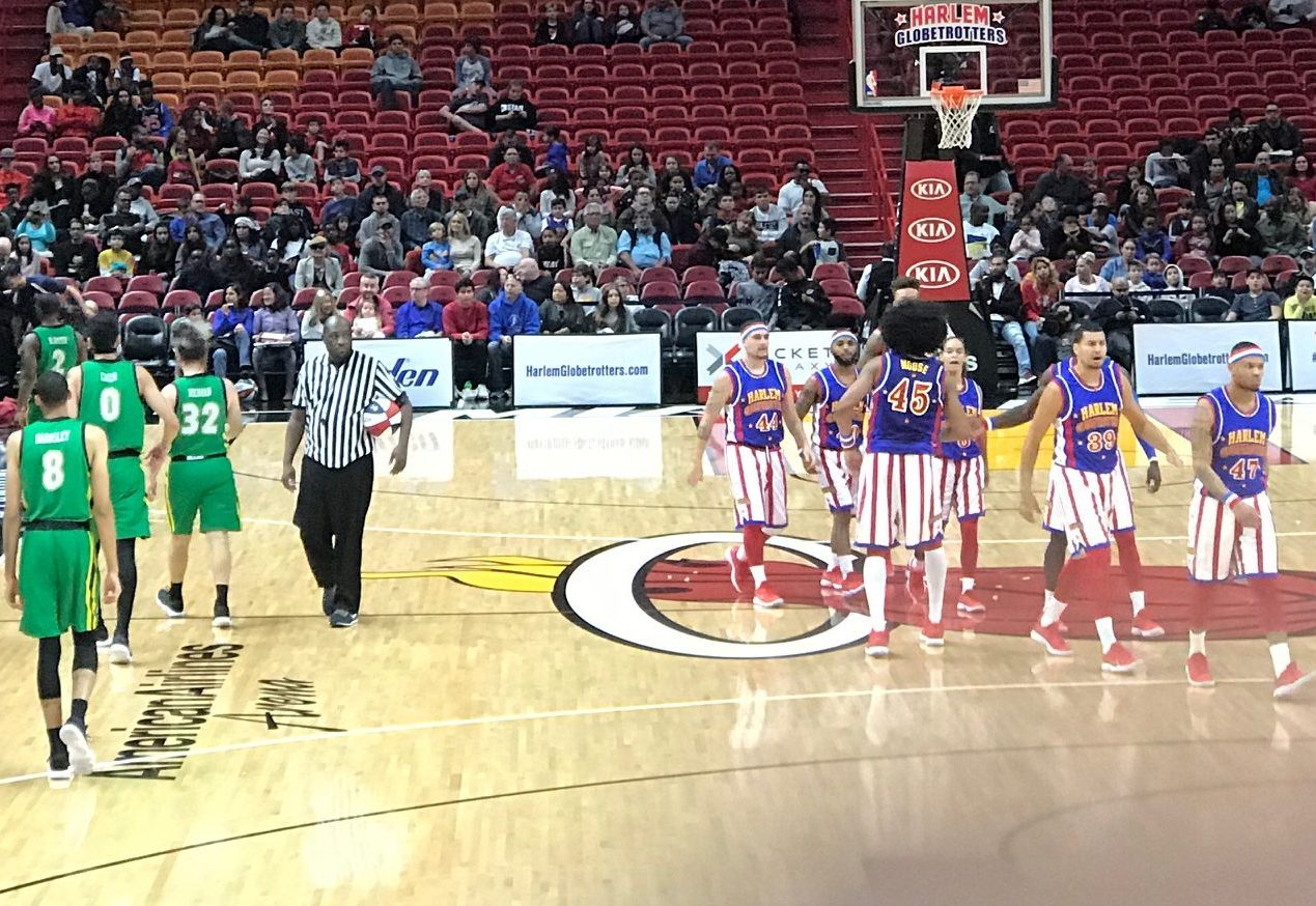 harlem globetrotters fan powered world tour review by lucee santini the harlem globe trotters. Black Bedroom Furniture Sets. Home Design Ideas