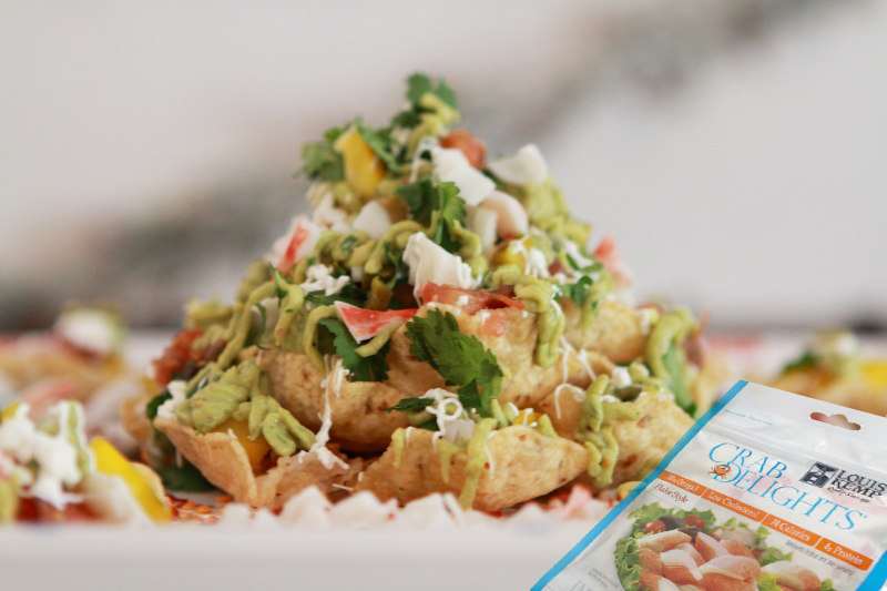 Celebrate the Holidays with Cheeseless Crab Nachos