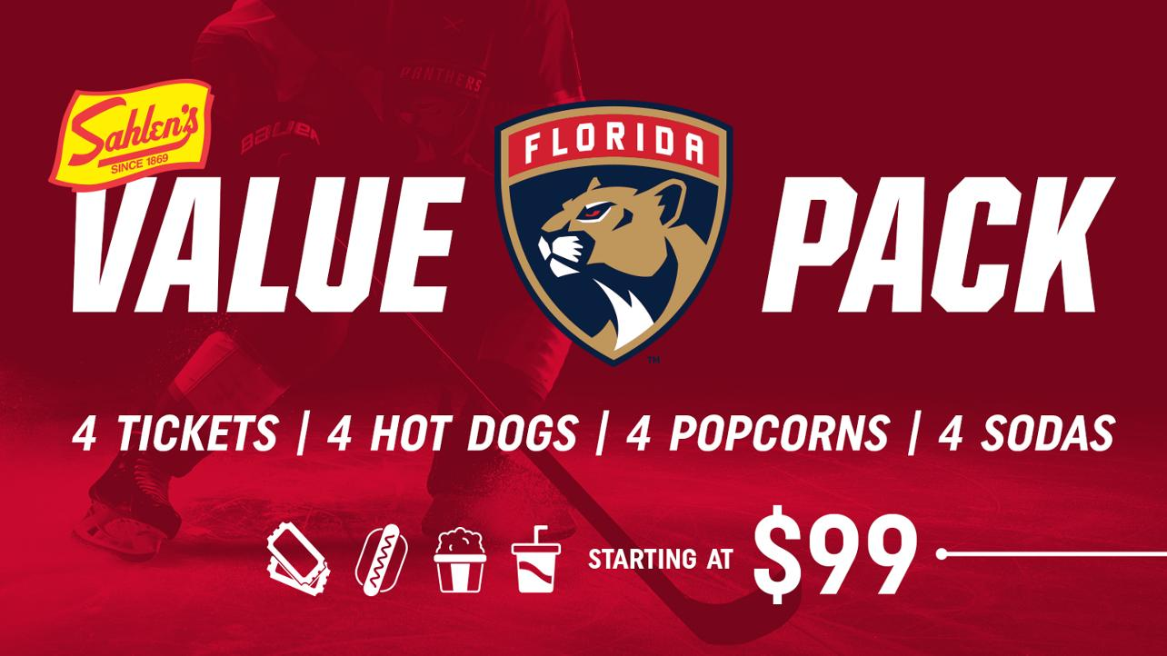 Save on Florida Panthers Tickets with the Sahlen's Value Pack