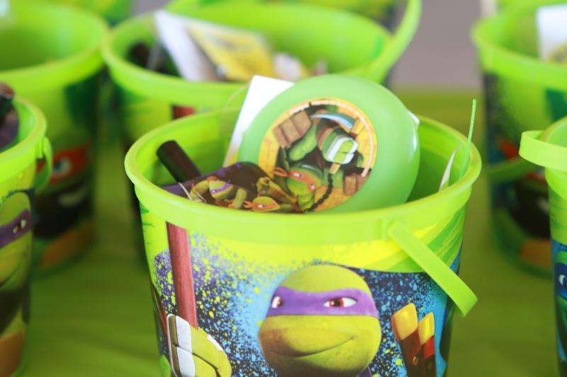 TMNT goody buckets