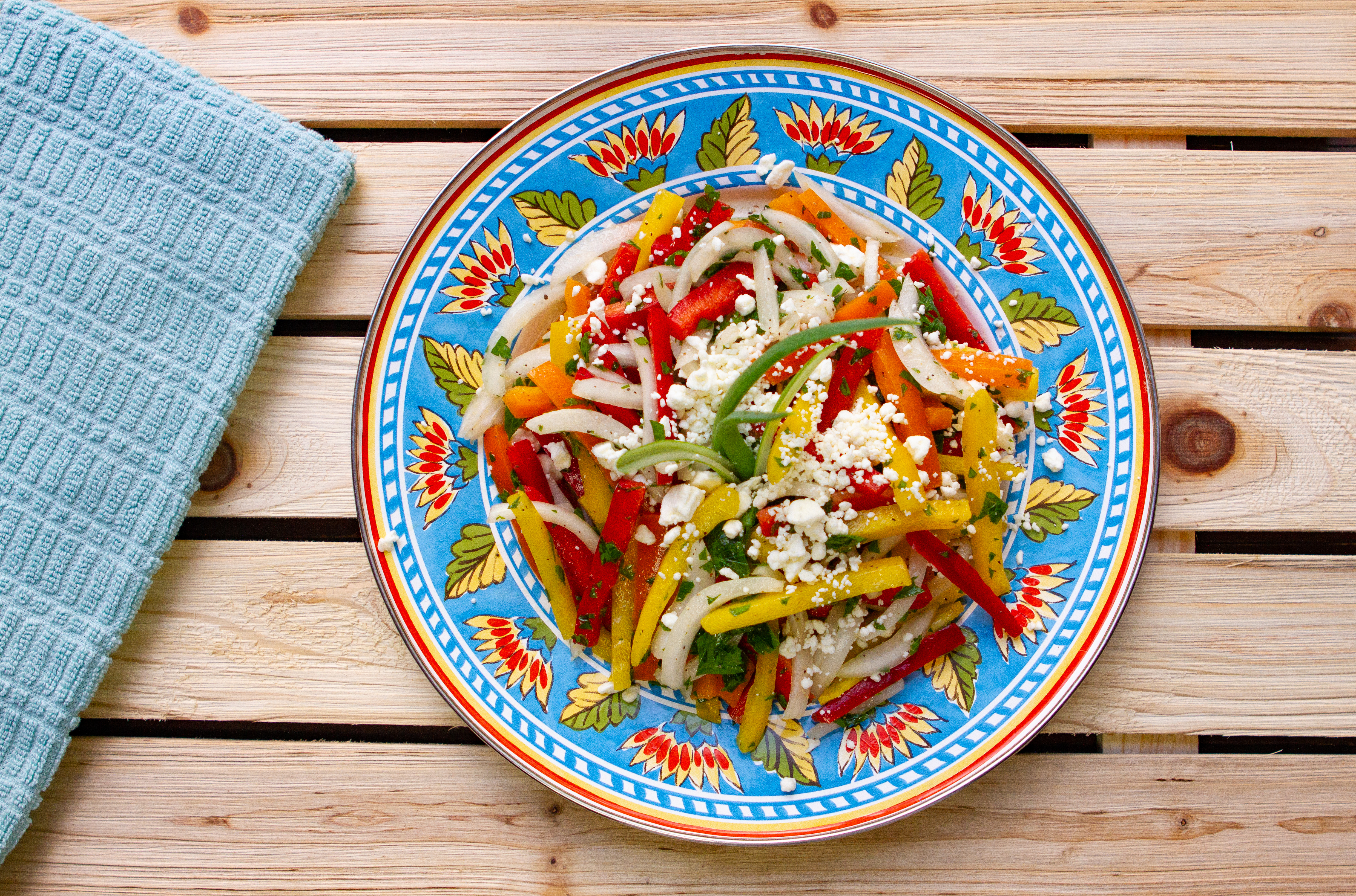 5 Major Benefits of Bell Peppers and a Florida Three Pepper Salad Recipe
