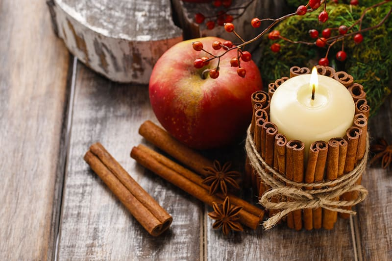 Easy 2 Step DIY Cinnamon Stick Candle Gift Tutorial