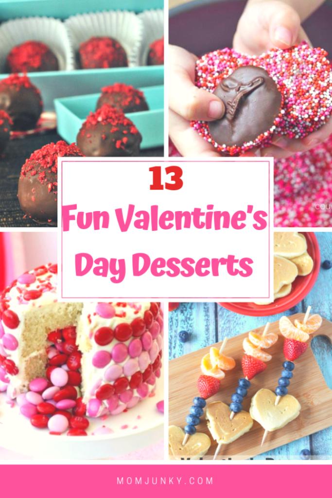 13 Fun Valentine's Day Desserts