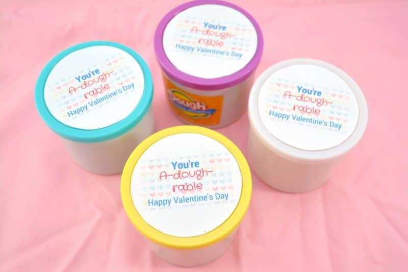 picture regarding Play Doh Valentine Printable identify 16 Valentines Working day Items less than $20 for the Comprehensive Cl