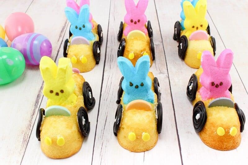 Peeps bunny mobiles