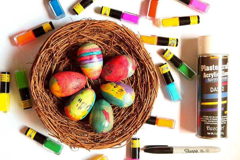 DIY Keepsake Easter Eggs