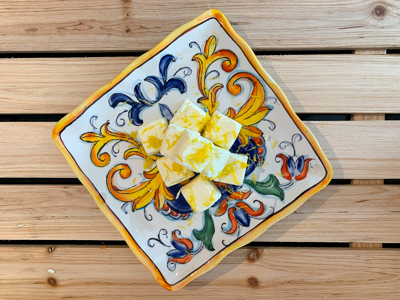 Keto Lemon Cheesecake Fat Bombs