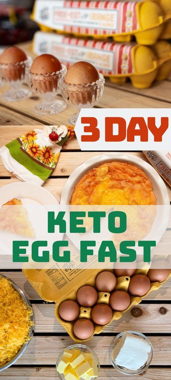3  Day Keto Egg Diet with Quiche recipe