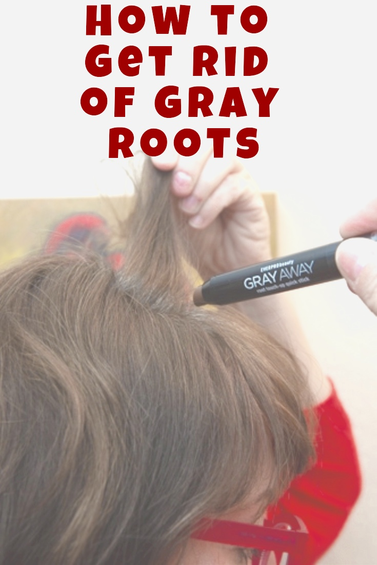 How to Get Rid of Grey Roots in 2 Seconds