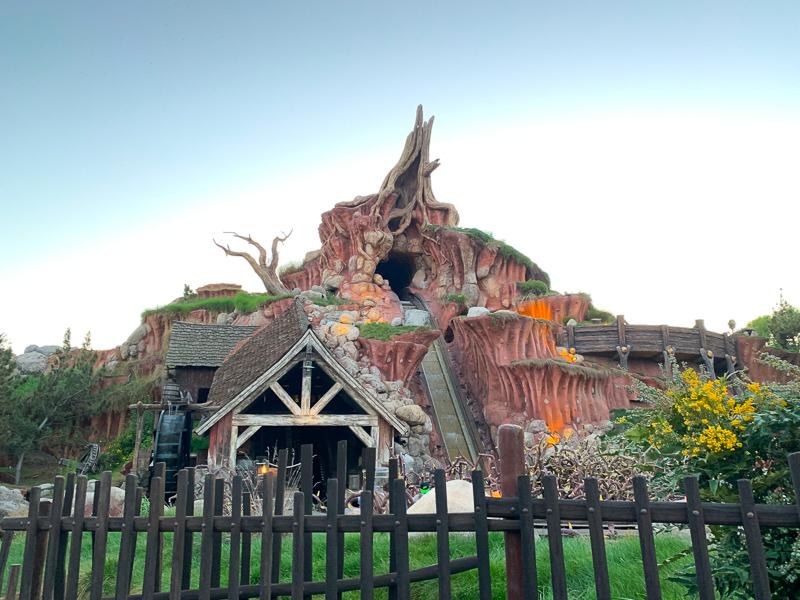 Disnelyland ride at Disneyland Anaheim California