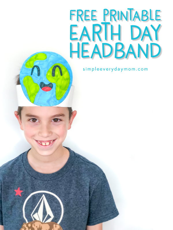 Free Printable Earth Day Headband