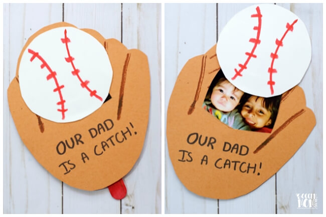 baseball father's day cards