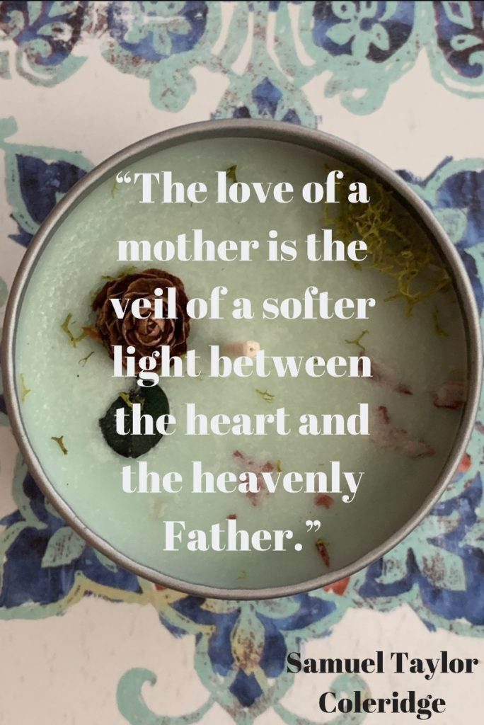 Samuel Taylor quote about mothers