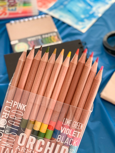 colored pencils by OOLY