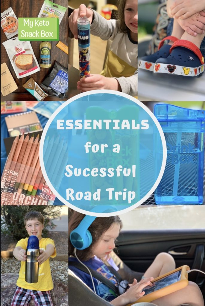 Pin for essentials for a successful road trip