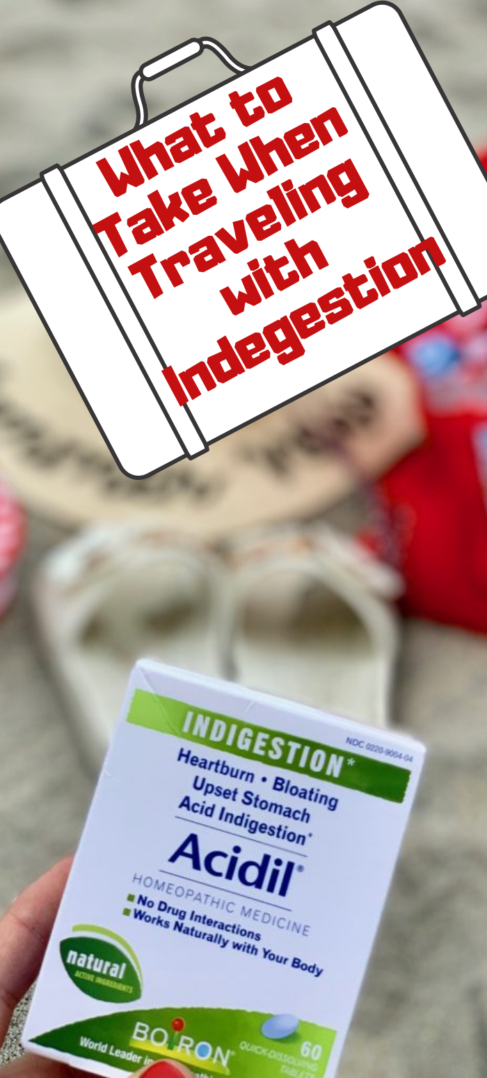What to take when traveling with indegestion