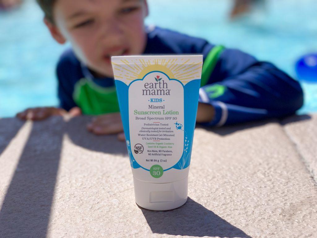 Earth Mama Kids Mineral Sunscreen