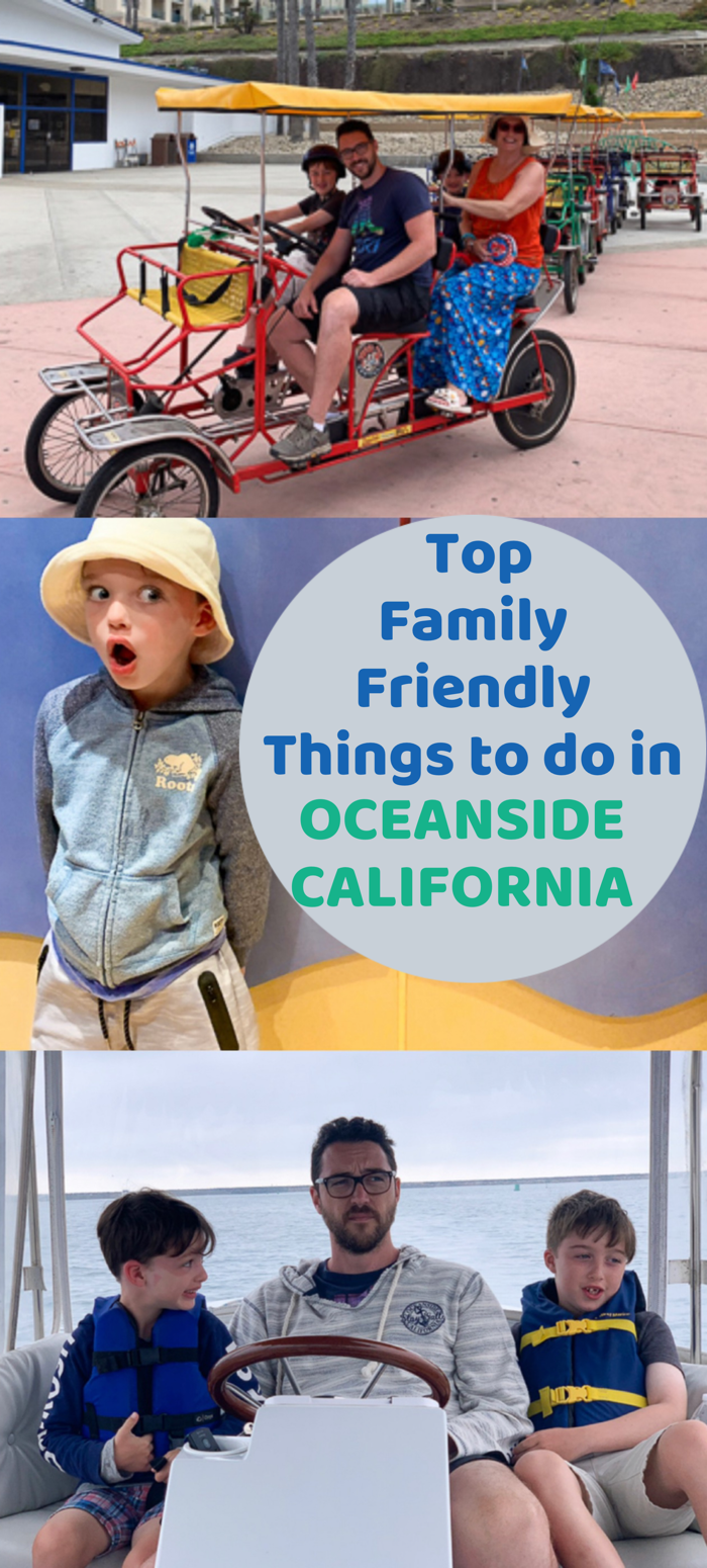 Top Family Friendly Things to do in Oceanside California