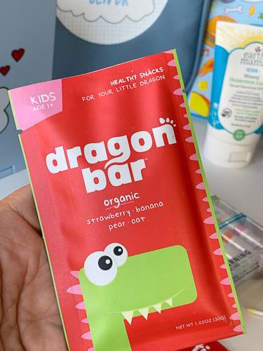 dragon bar strawberry banana