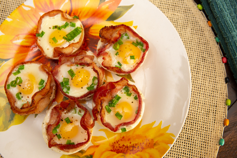 How to Make Easy Keto Bacon and Egg Cups
