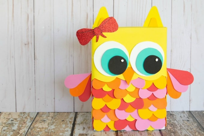 owl valentine's day box