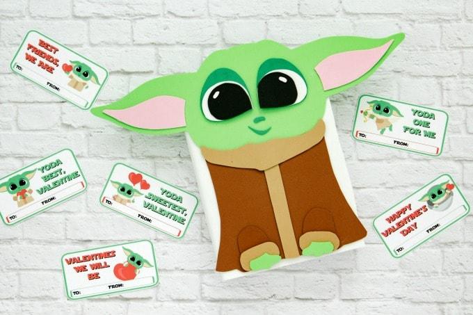 baby yoda valentine's day box
