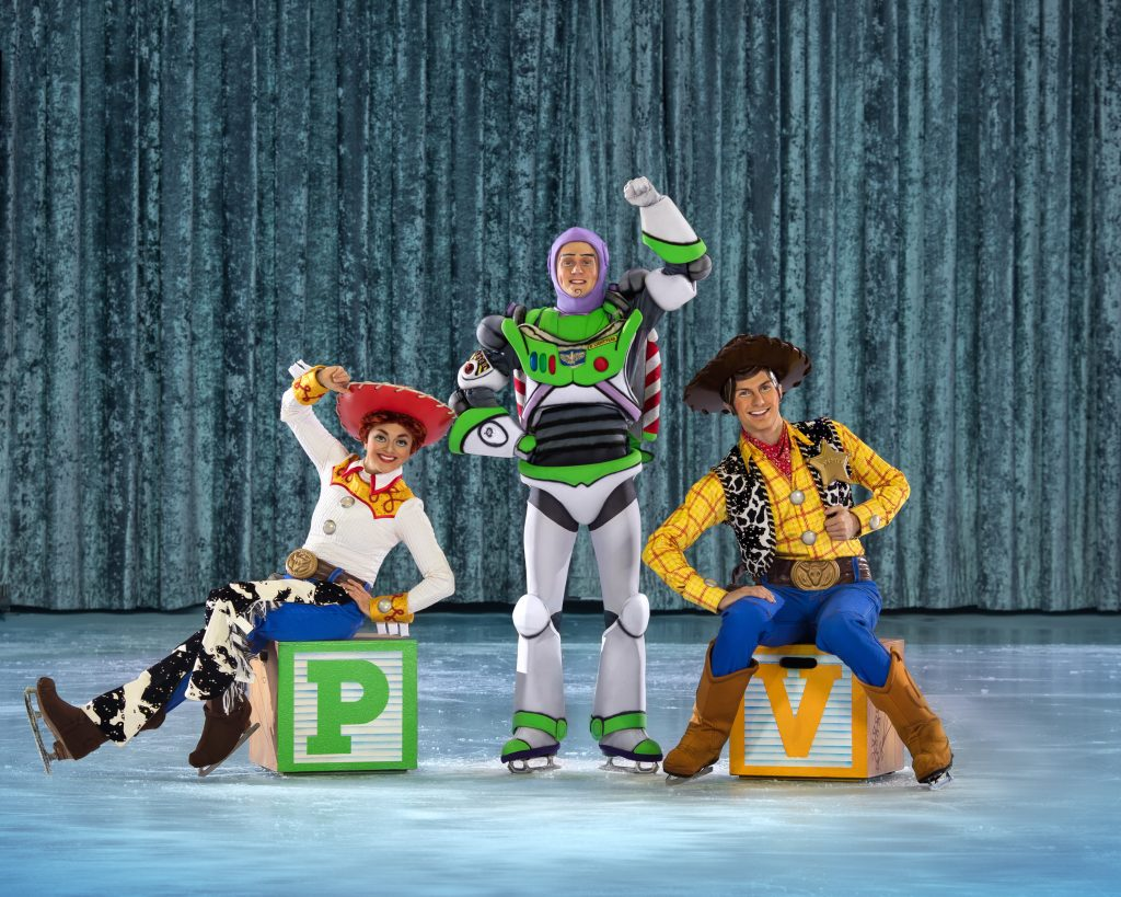 Toy Story group on Disney on Ice