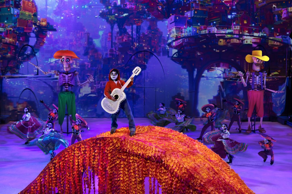 Miguel from Coco on Disney on Ice