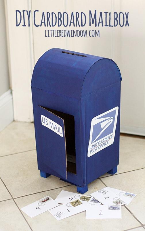 U.S mail valentine's day box