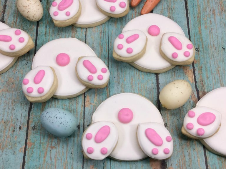 Easter Bunny Butt Sugar Cookie Recipe
