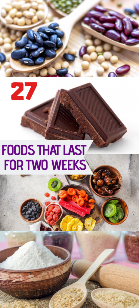 pin for foods that last two weeks