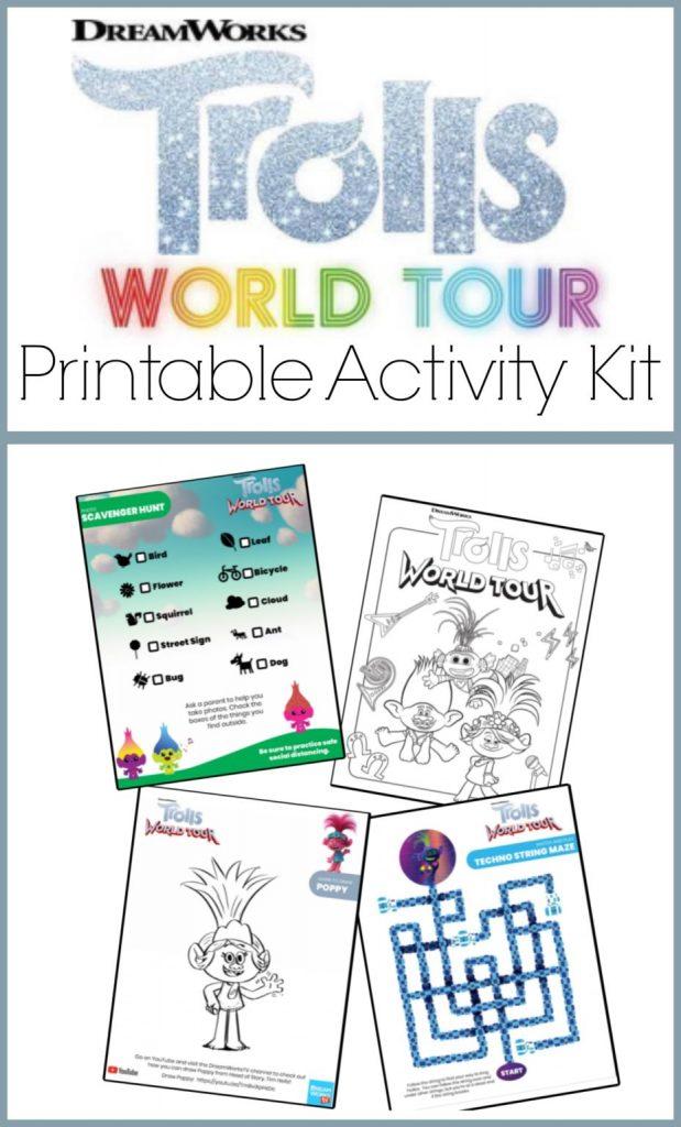 Printable activity kid