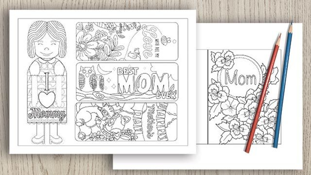 Free Printable Mother's Day Cards & Crafts (updated for 2020)