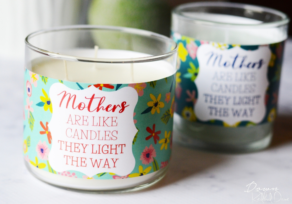 Mother's Day Candles