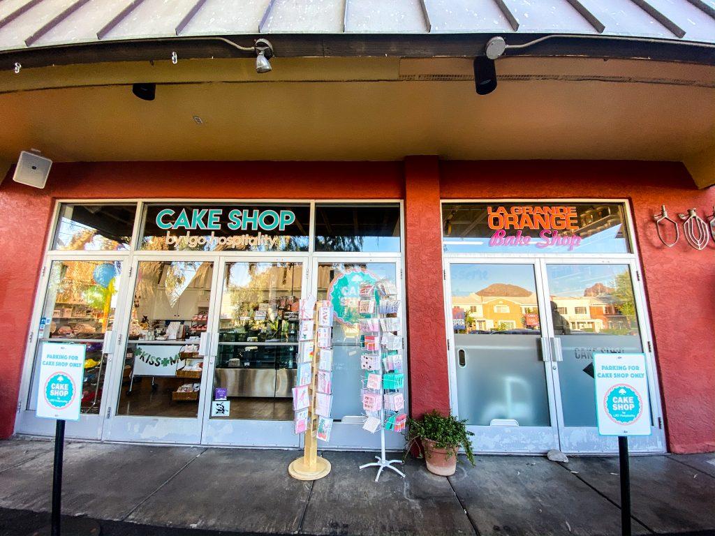 storefront image of LGO cake shop