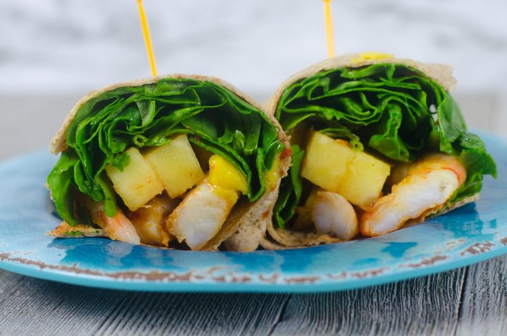 Weight Watchers® Friendly Thai Mango Wrap Recipe