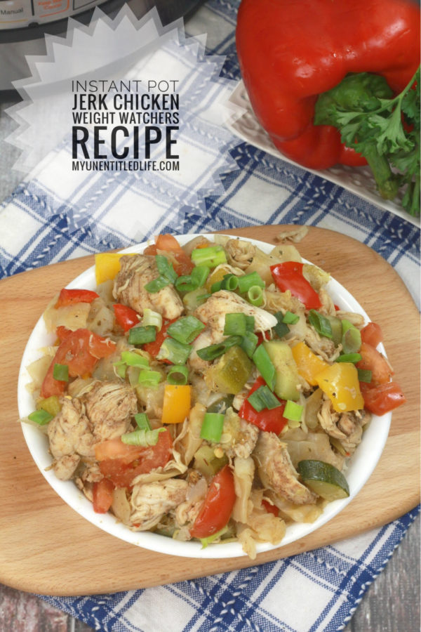 Instant Pot Jamaican Jerk chicken Stir Fry Recipe
