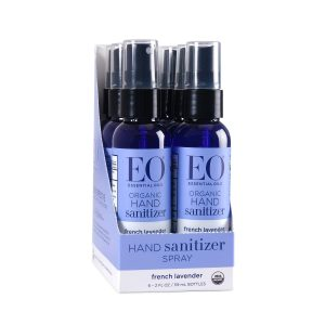 EO Organic Hand Sanitizer in Lavender