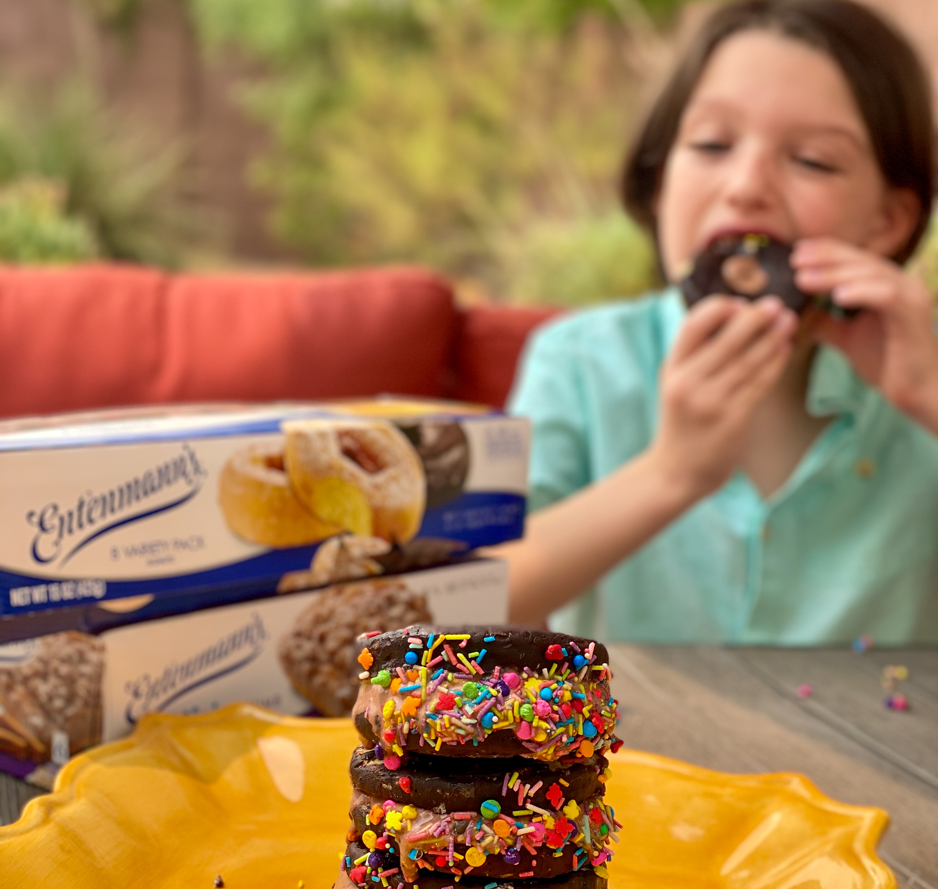 Celebrate National Ice Cream Sandwich Day with Entenmann's + Giveaway